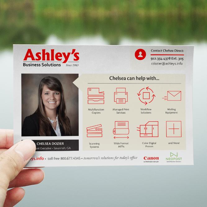 Custom Postcards | Ashley Business Solutions