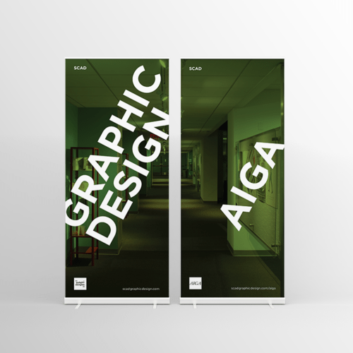 Retractable Banners for SCAD