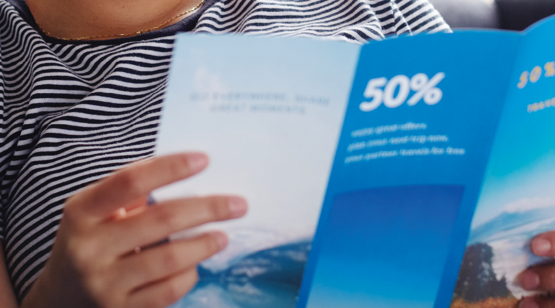 A Creative Way To Use Brochures