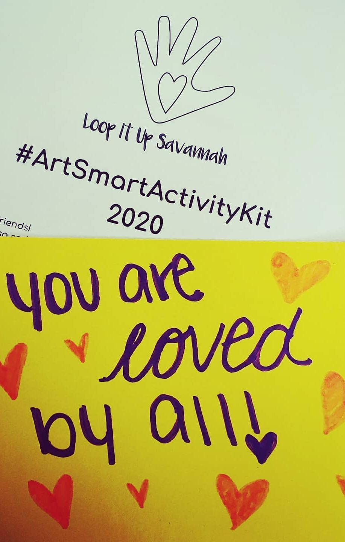 An Art Smart Activity book